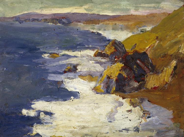 A California Impressionist Painting by Selden Connor Gile
