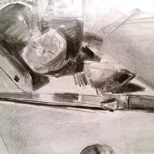 Still Life Sketch 1