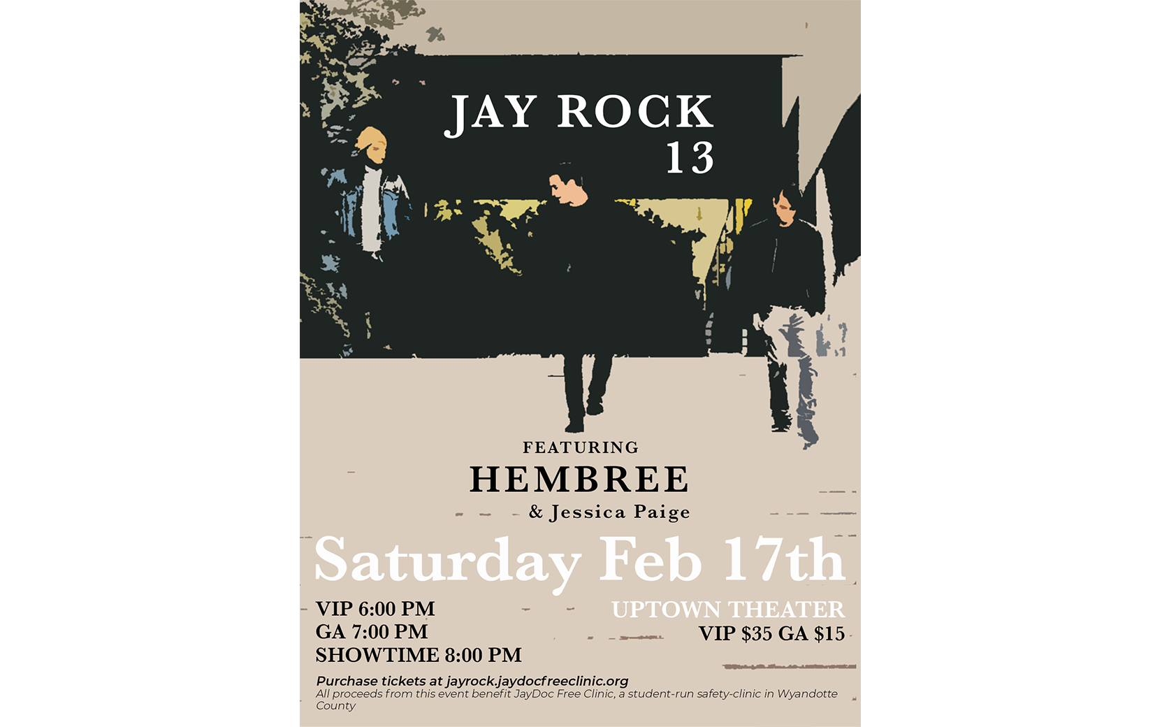 Jay Rock 13 Event Flyer