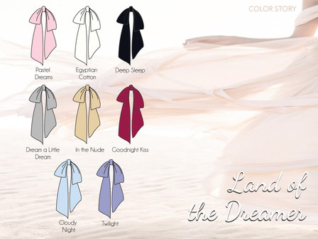 The Land Of The Dreamer | Color Palette
