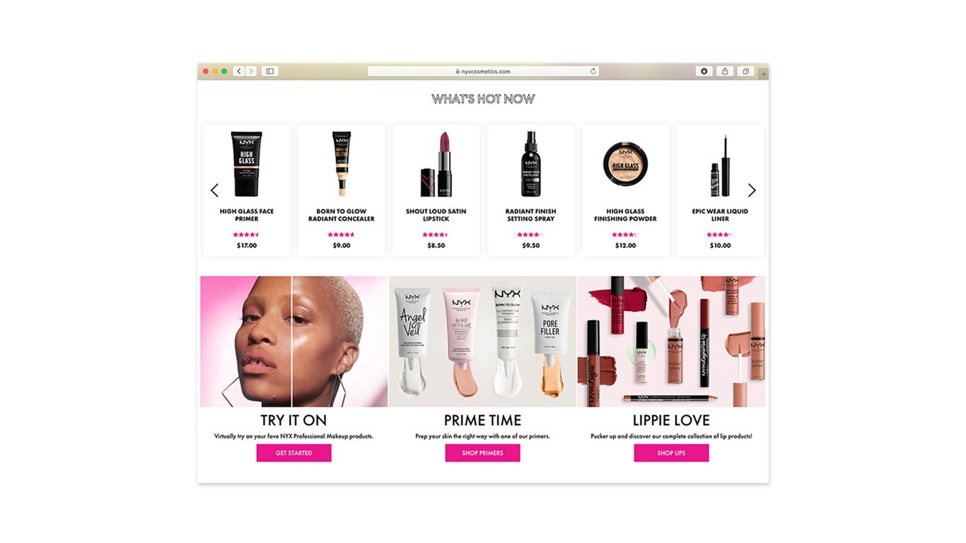 Homepage Banners