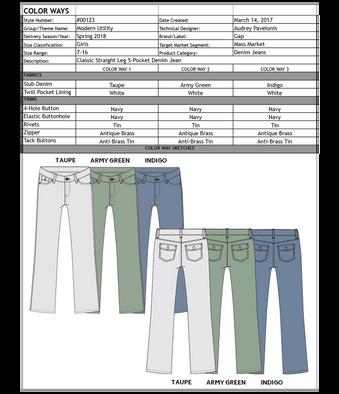 Denim Tech Pack | Color Ways