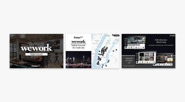 Porter24, WeWork Presentation