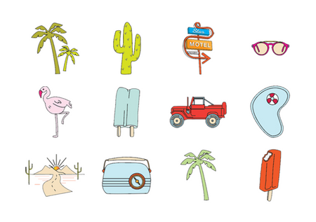Palm Springs Icons