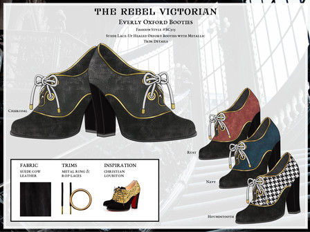 The Rebel Victorian | Designs