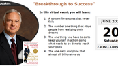 """Webinar: """"Breakthrough to Success"""" by Jack Canfield"""