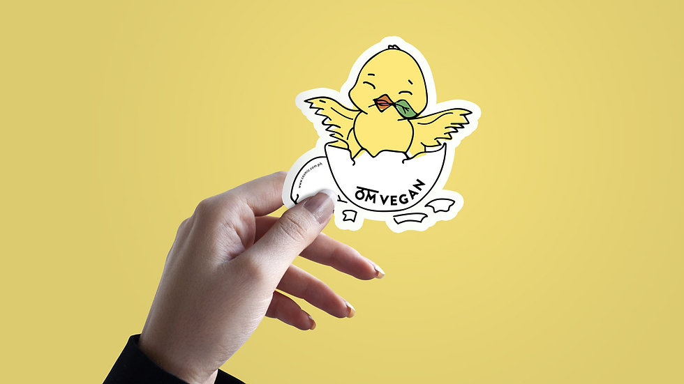 Egg and Chick Sticker