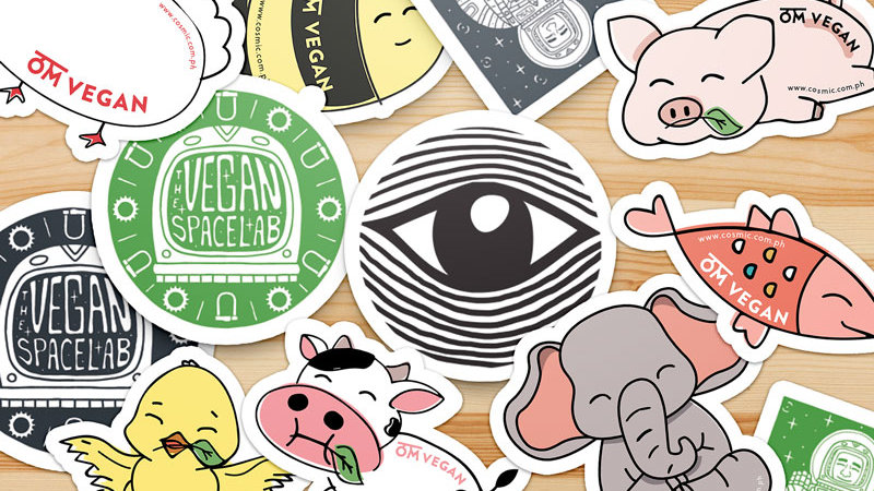 Stickers Set of 12