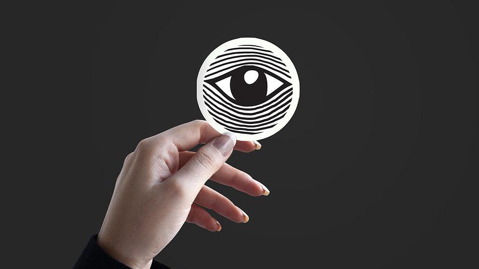 Cosmic Eye Sticker