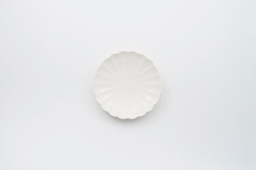 White Chrysanthemum Plate, SS