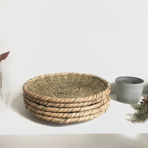 Togakushi Bamboo Round Zaru Basket/Colander