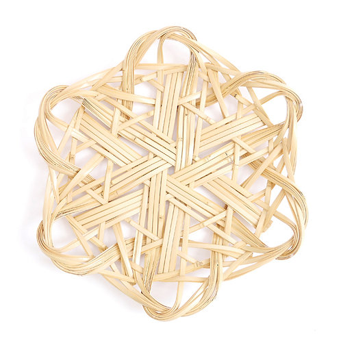 BAMBOO BASKETRY PLATE