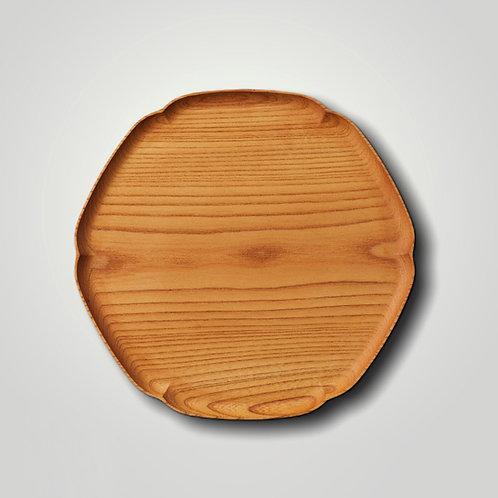 """""""KITO-YUKIWA"""" Snowflake Wooden Tray (M)"""