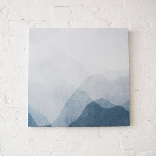 Abstract  Wagami Art Panel : The Sky & Mountain