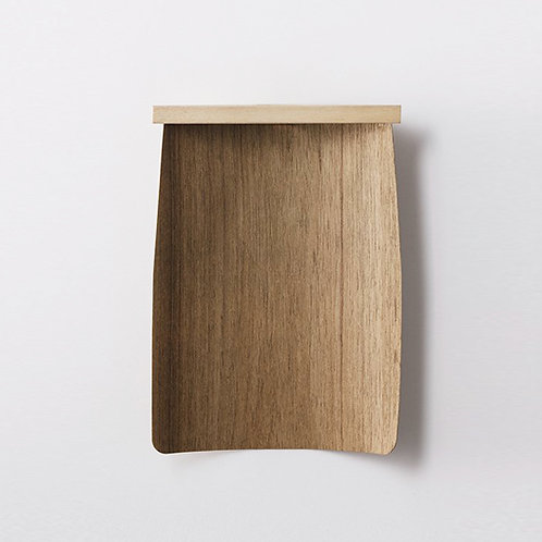 Takada Natural Cheek Wood Dustpan - S
