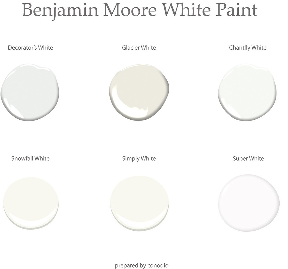 Benjamin Moor White Paint by conodio