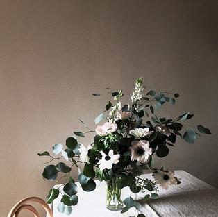 Anemone arrangement-seasonal item