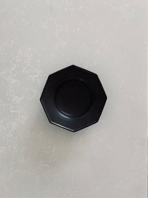 Octagonal Sauce Dipping Bowl, Matte Black