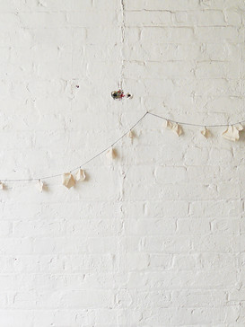 Cotton leaves garland