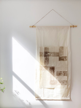 Rice Paper Hanging Scroll