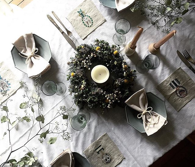 Holiday Table Styling