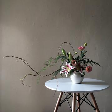 Ikebana Style arrangment