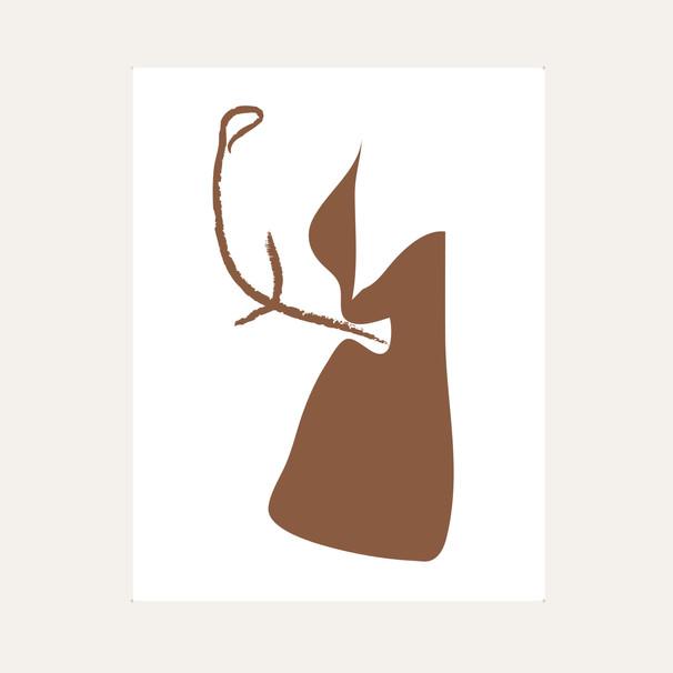 Ikebana Drawing 01 Brown web.jpg