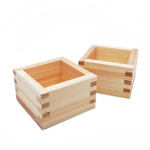 HINOKI Mas wood Box (SET OF 2)