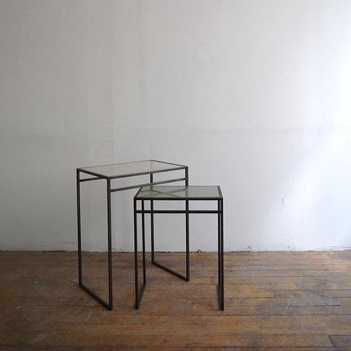 Kyoto KINU Silk Glass Side Table
