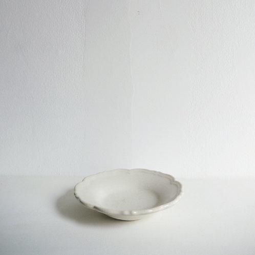 """""""RINKA"""" Dipping Sauce Bowl, Hakuji White"""