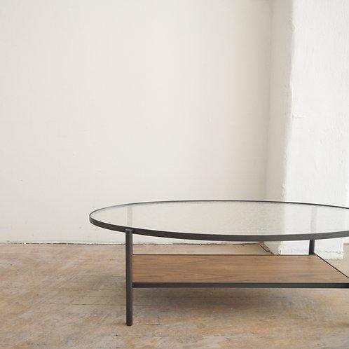 Kyoto KINU Silk Glass Oval Table