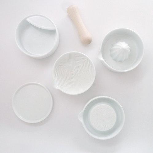 SHITAKU Stackable Kitchen Tool Set