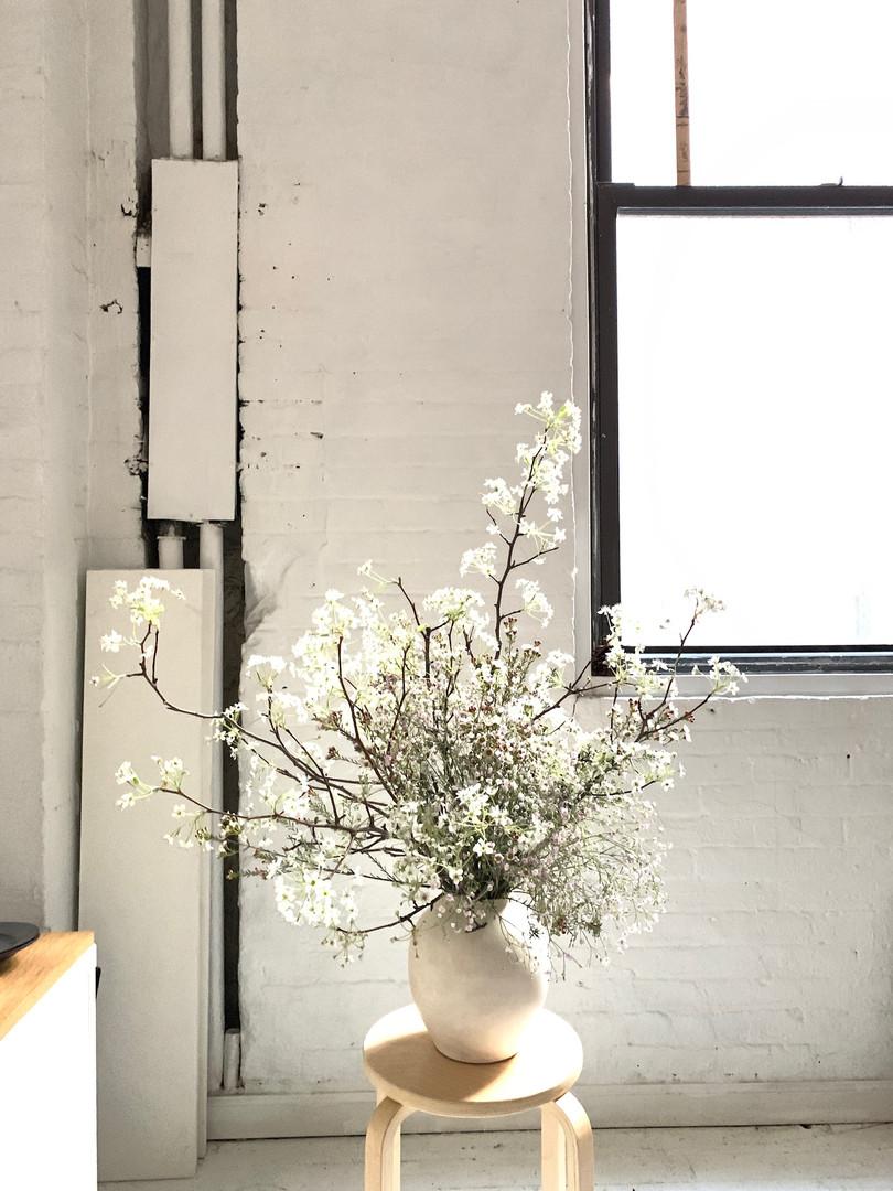 Ikebana Style Arrangement