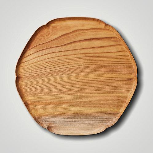 """""""KITO-YUKIWA"""" Snowflake Wooden Tray (L)"""