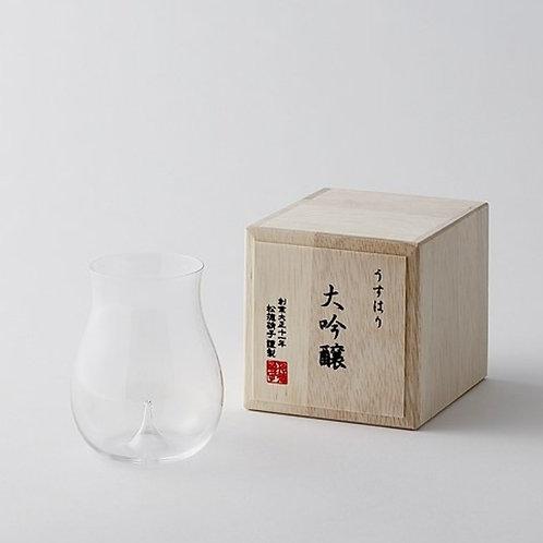 "SAKE GLASS ""USUHARI DAIGINJO"""