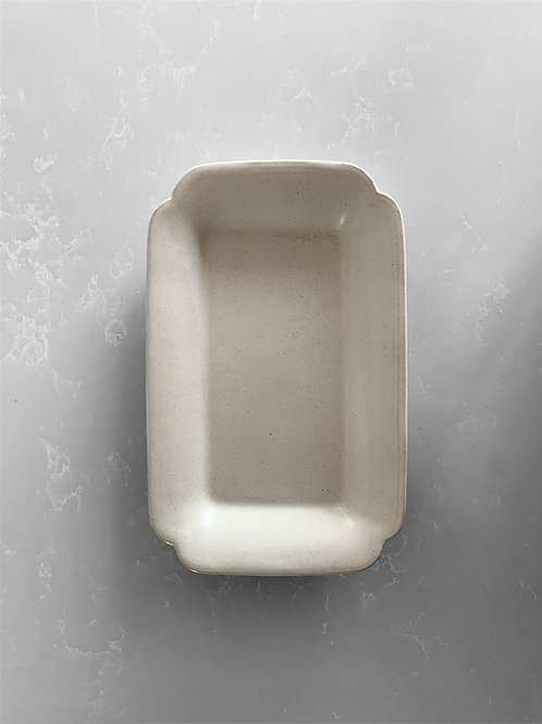 Rectangle Plate/Tray, Hakuji White