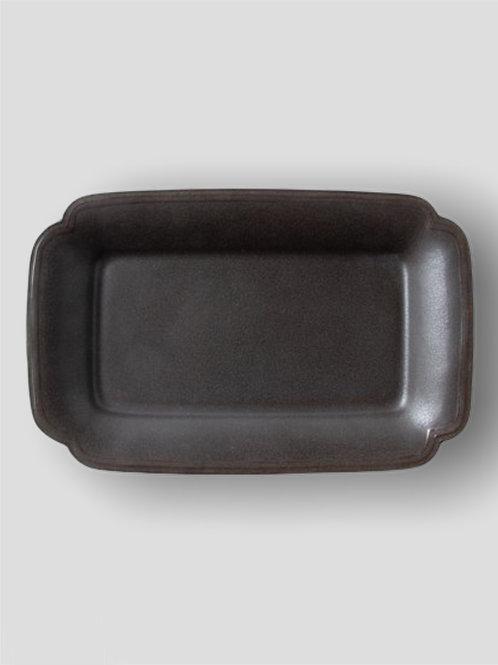Rectangle Plate/Tray, Matte Black