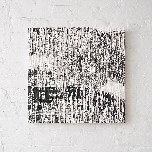 Abstract SUMI Art Panel : Texture of Tree bark