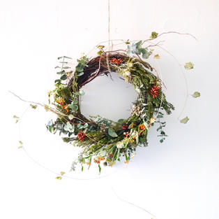 Seasonal Holiday wreath - Made to order