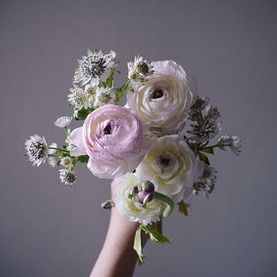 Rananculus - mini bouquet arrangement seasonal item