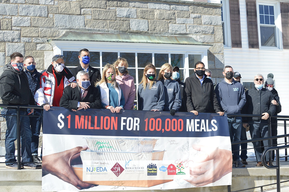 $1 Million for 100, 000 Meals: Volunteer to Feed the Frontlines + Help Those in Need, Bergen County Moms