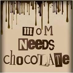 Mom Needs Chocolate by Lisa Mecray Rogers, Ridgewood Moms