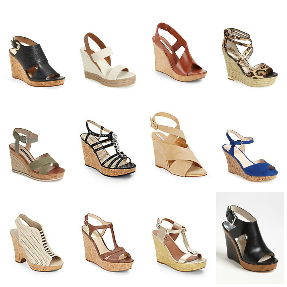 Wedge Sandals (on sale of course), Ridgewood Moms