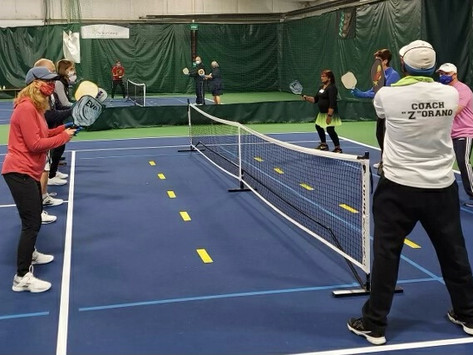 Pickleball at Down Town Sports Starts January 10, 2021 + Clinic January 24th!
