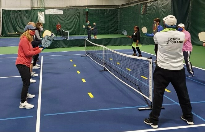 Pickleball at Down Town Sports Starts January 10, 2021 + Clinic January 24th!, Bergen County Moms