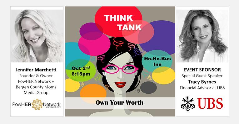 PowHER Network Event, Think Tank, Bergen County Moms