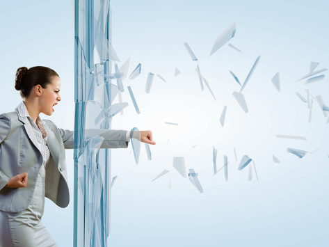 Break the Window and Shatter the Glass by Randi Levin, CPC, Life Transition Coach