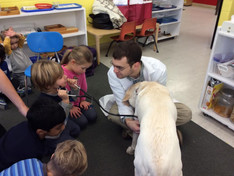 Occupation Week: Veterinarians, Dr. Andrew Massaro and Dr. Stacey Bartholomew