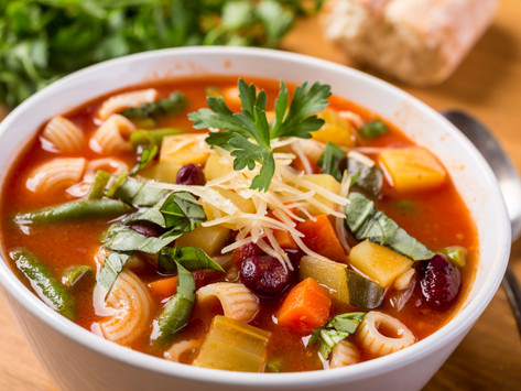 Southern Italian Minestrone Soup by Stacey Antine, MS, RDN