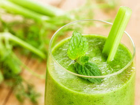 Green Apple Smoothie by Stacey Antine, MS, RD